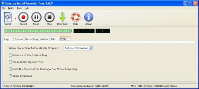 Sonarca Sound Recorder Free