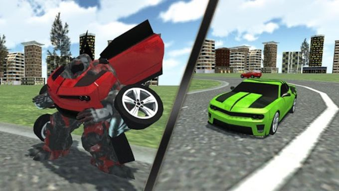 Car Robot Simulator