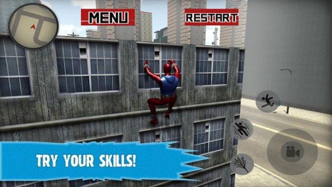 Superhero Spider Story 2017