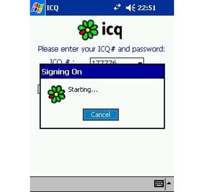 ICQ for Pocket PC
