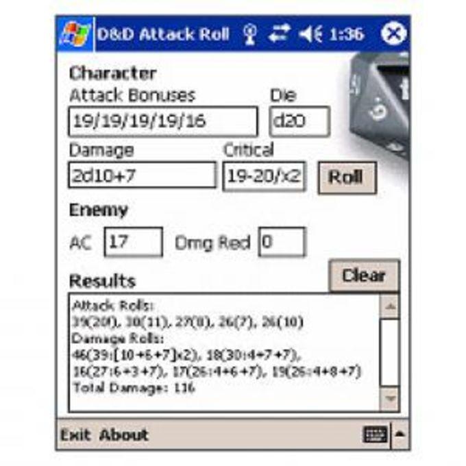 D&D Attack Roller