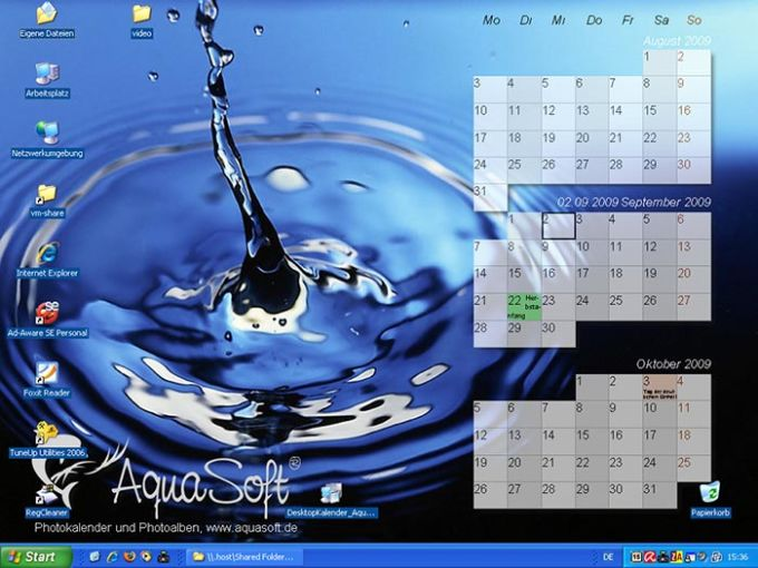 AquaSoft DesktopKalender