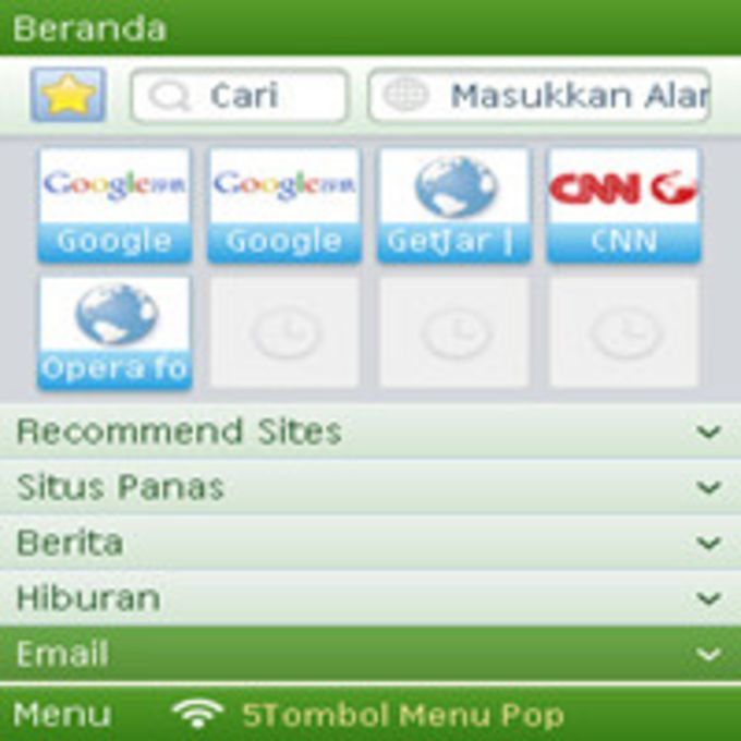 QQ Browser for Symbian V3