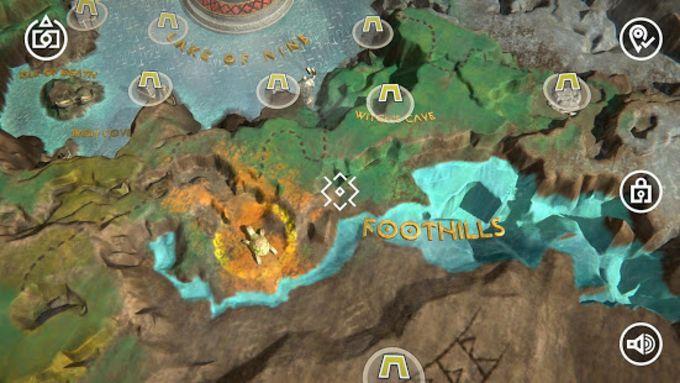 God of War  Mimirs Vision