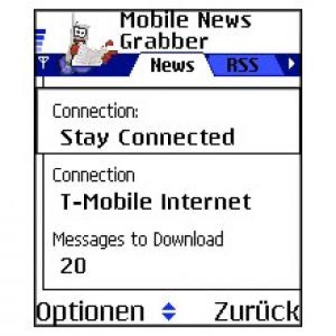 Mobile NewsGrabber (S60)