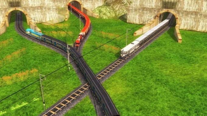Indian Train Racing Games 3D