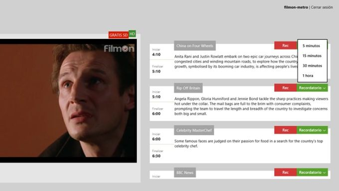 Live TV para Windows 10
