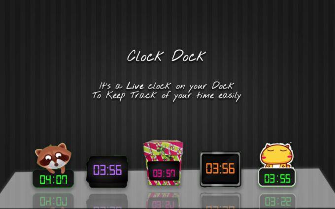 Clock Dock