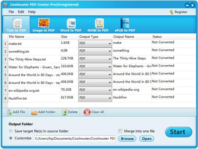 Coolmuster PDF Creator Pro