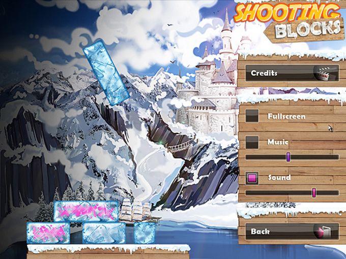 Shooting Blocks: Ice Equilibrium
