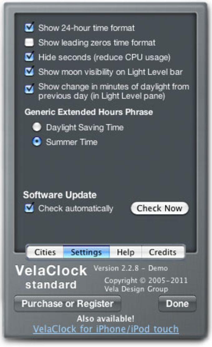 VelaClock