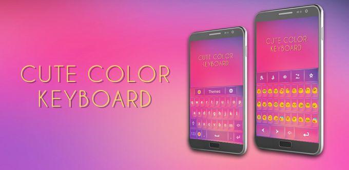 Cute Color Keyboard