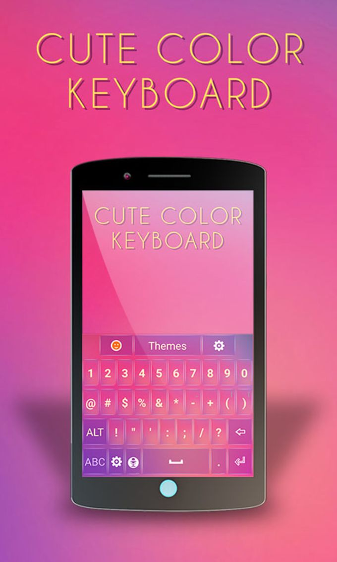 Cute Color Keyboard