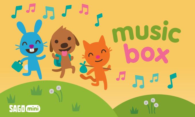 Sago Mini music-radio Box