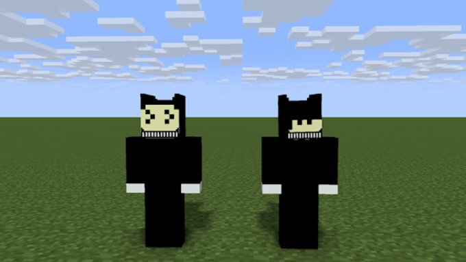 BENDY SKIN For MCPE For Android Download - Descargar skins para minecraft pe gamer