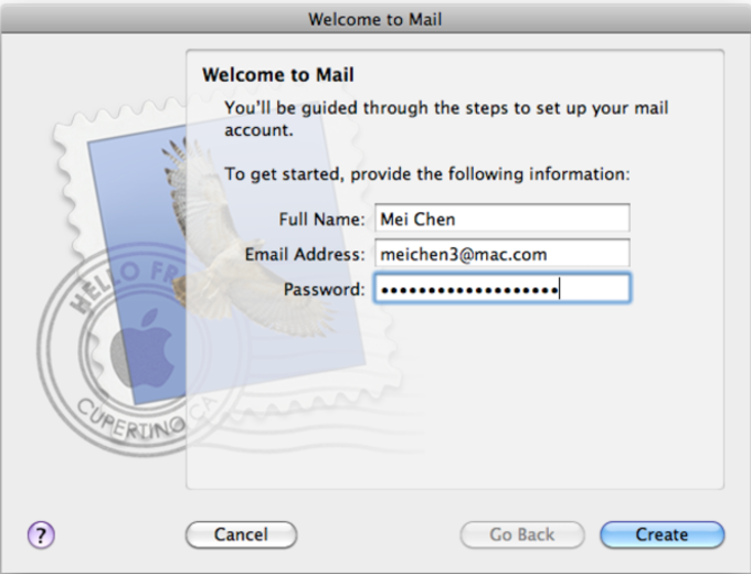 Apple Mail Update
