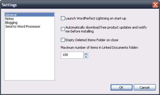 Corel WordPerfect Lightning