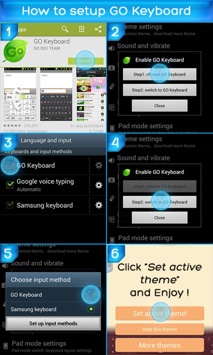 Keypad for Galaxy Note 2 Free