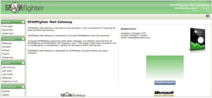 SPAMfighter Mail Gateway