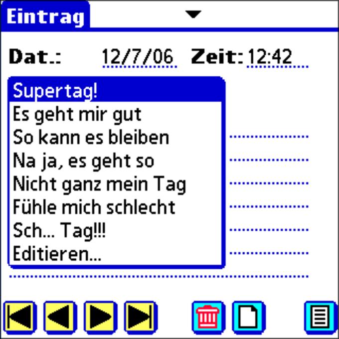 Tagebuch!
