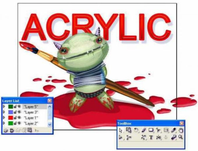 Microsoft Acrylic