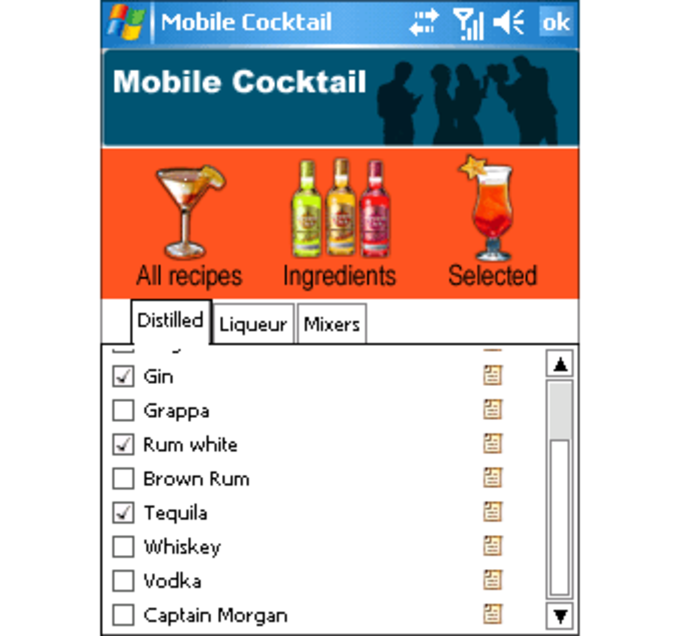 Mobile Cocktail