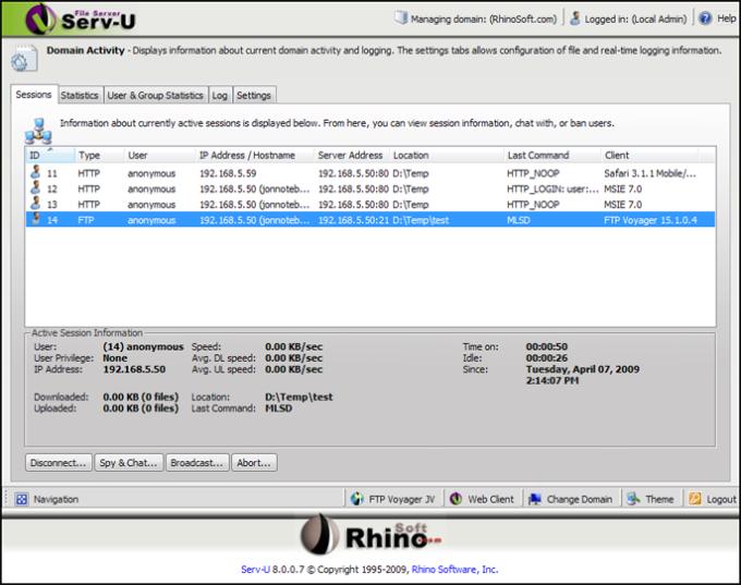 FTP Serv-U