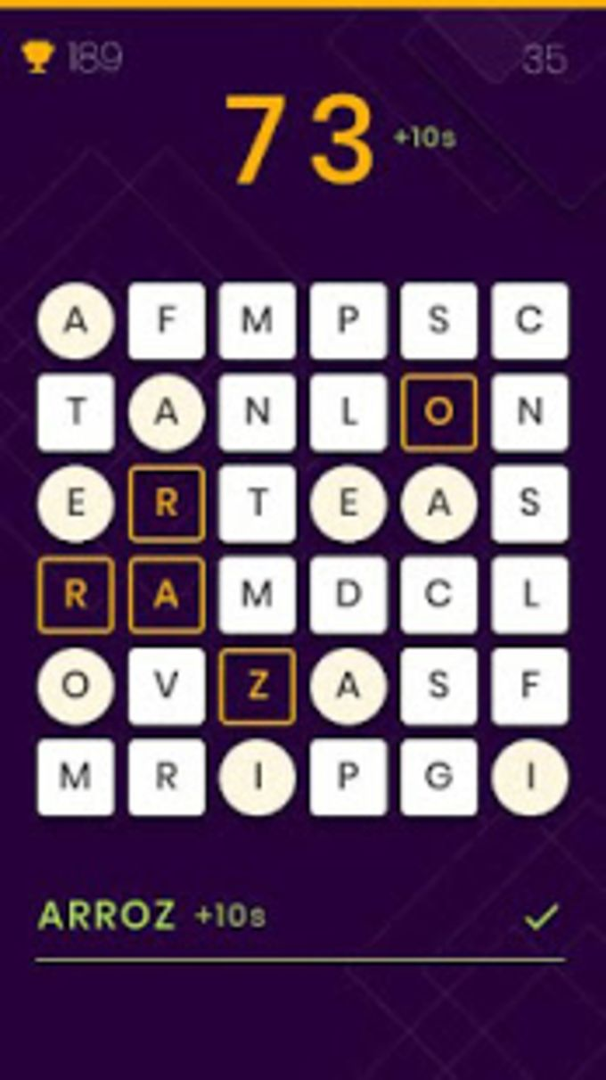 Letrado - Caça palavras dinâmico