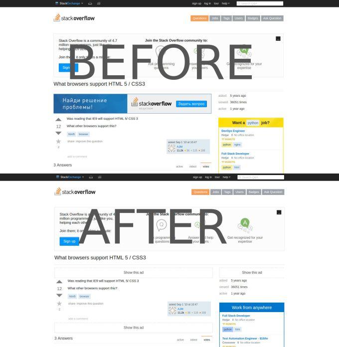 FoxyBlocker for Chrome