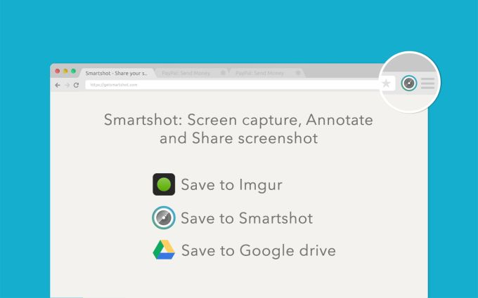 Smartshot: Screen capture, Annotate for chrome