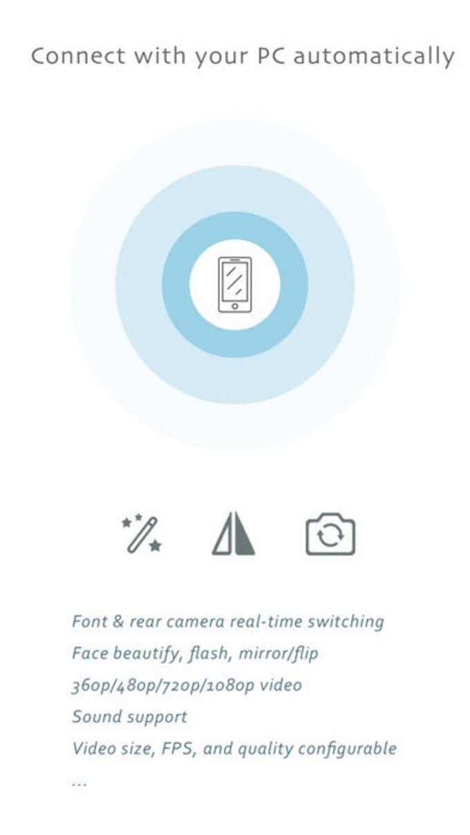 iVCam Webcam