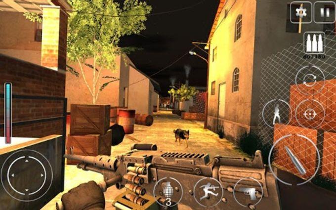 Lara Croft FPS Secret Agent   Shooter Action Game