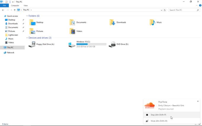 SoundCloud Widget   PoziTone module