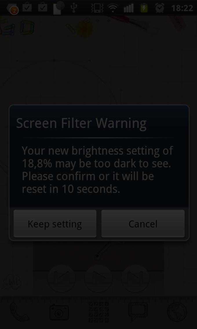 Screen Filter