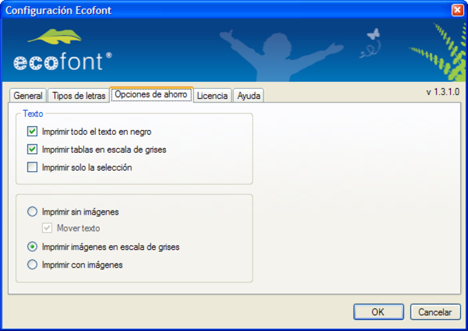 Ecofont Home Edition