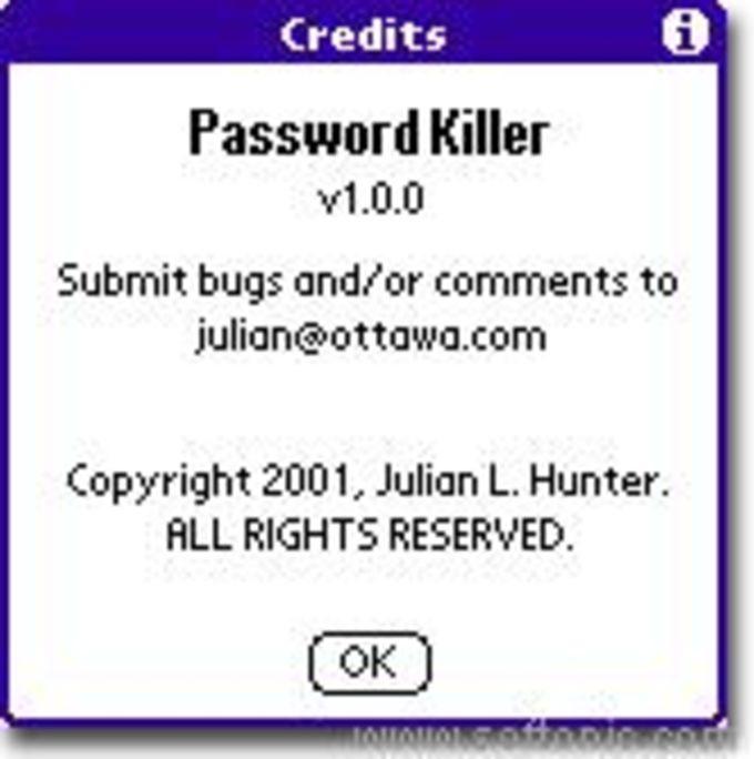 Password Killer