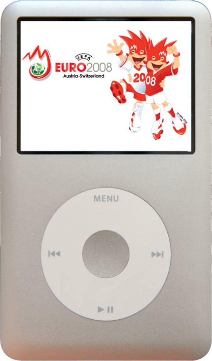 EM-Spielplan für iPod
