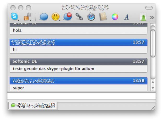 Skype API Plugin for Adium