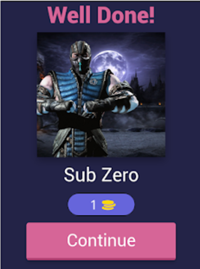Mortal Kombat Quiz