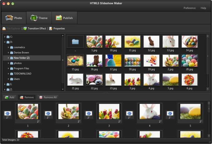 HTML5 Slideshow Maker