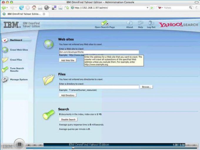 IBM OmniFind Yahoo! Edition