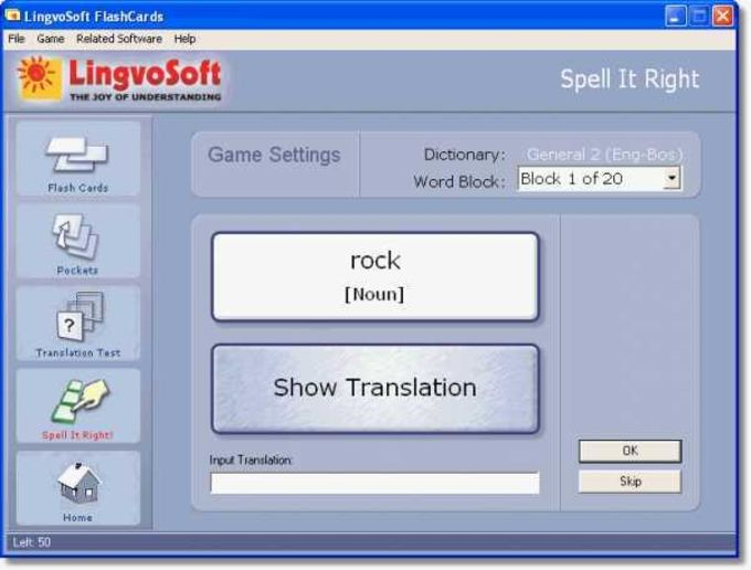 LingvoSoft FlashCards English-Bosnian