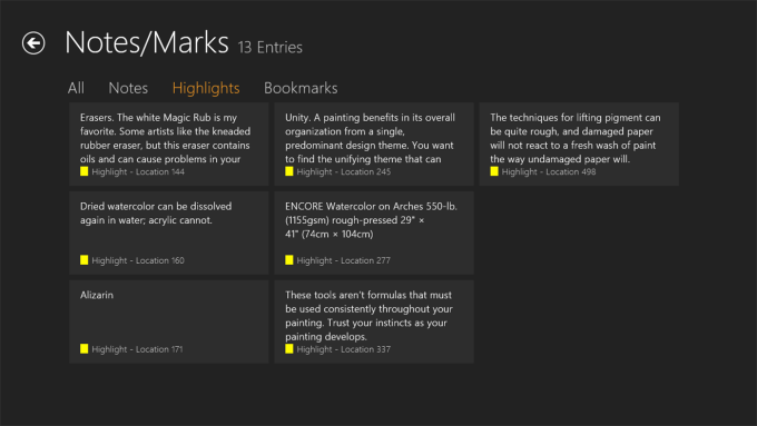 Kindle per Windows 10