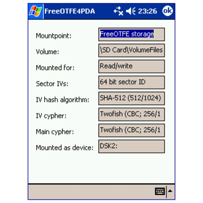 FreeOTFE4PDA