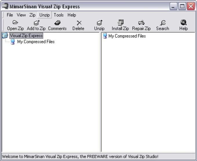 Visual Zip EXPRESS