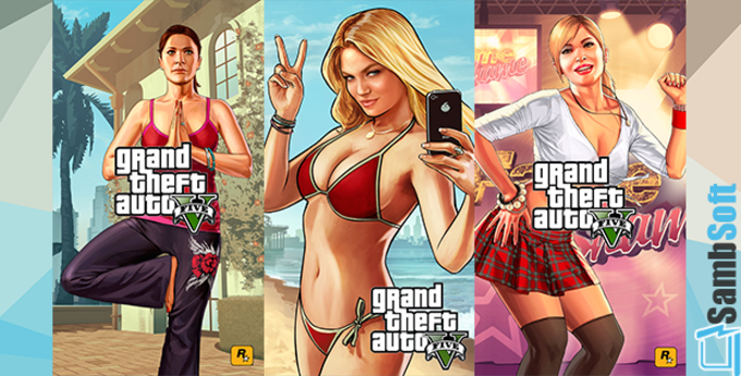 GTA5 iPhone Wallpapers