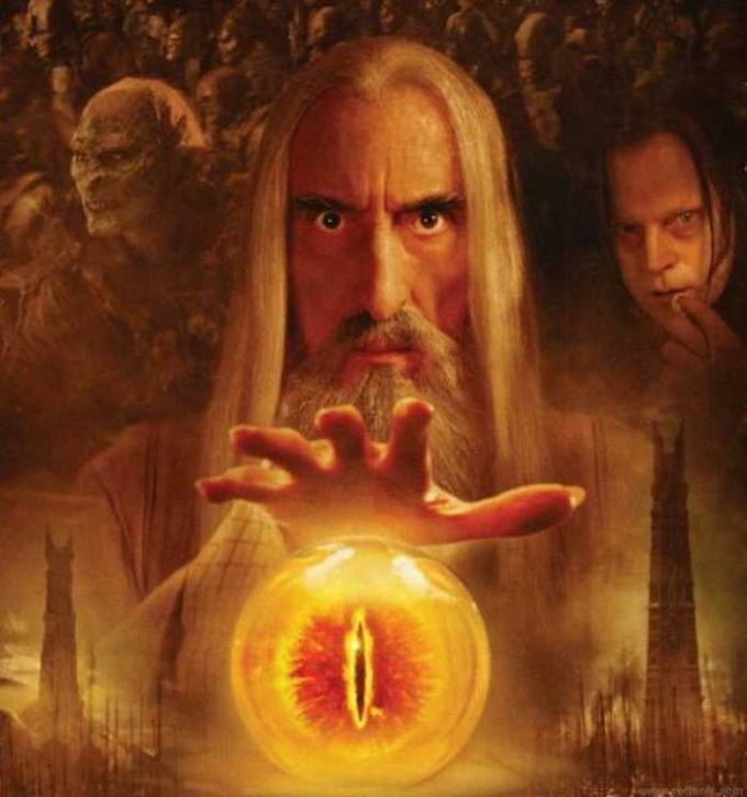 Lord of The Rings: Saruman Wallpaper