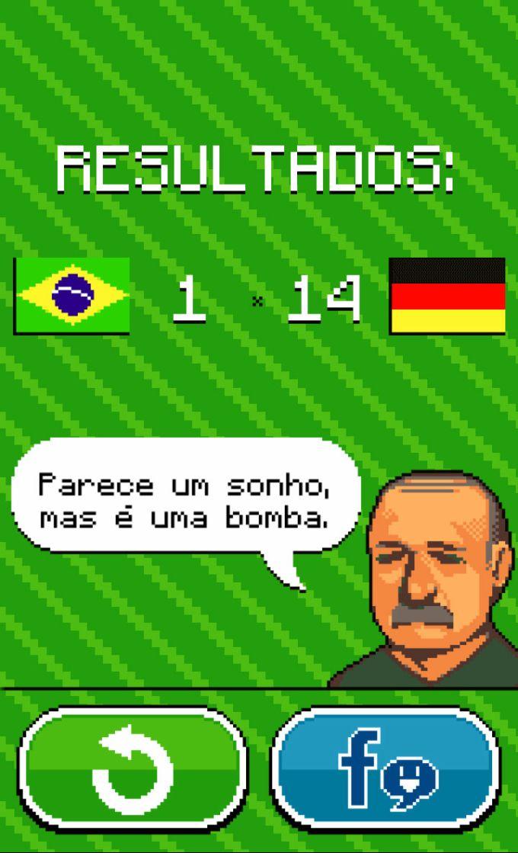 Brasil x Alemanha - Jogo 7 a 1
