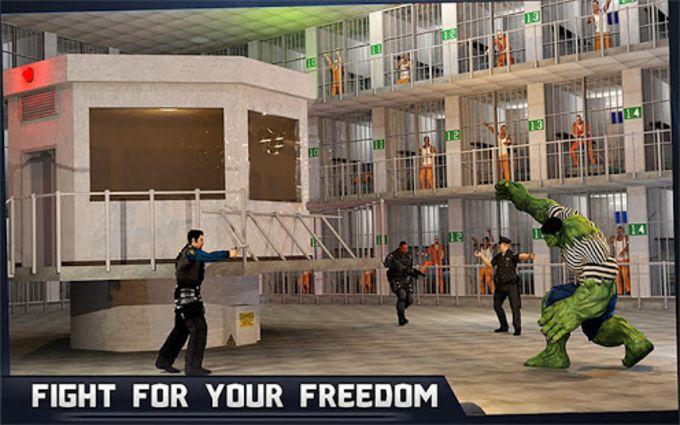 Incredible Monster Hero Super Prison Action Games