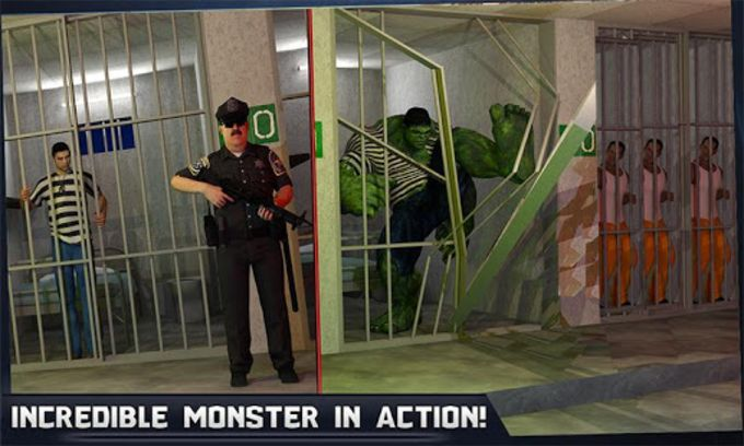 Incredible Monster Hero Super Prison Action Games